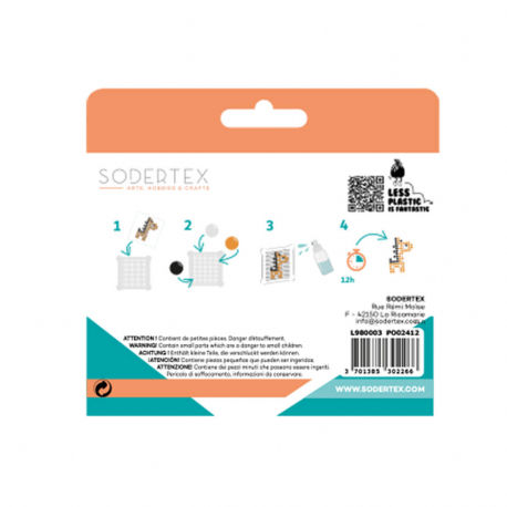 Lot de 5 Sprays pour Aqua Perles 9x2cm