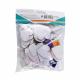 Pack de 150 Gommettes en Feutrine Adhésives 1mm - Thème Coeurs - 4 tailles - Assortiment de 10 Couleurs