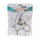 Pack de 150 Gommettes en Feutrine Adhésives 1mm - Formes Géométriques - 4 tailles - Assortiment de 10 Couleurs