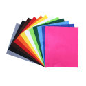 Coupons Feutrine 180G/M2 - 24x30cm - 12 couleurs assorties