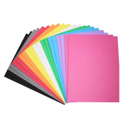 Coupons Mousse EVA - 40x30cm - 2x10 couleurs assorties