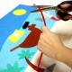 Kit Tableau en Feutrine 3D à Fabriquer - 65x50cm - Thème Cœur de Pirate