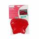 Kit Etoile et Coeur en Feutrine 2mm à Coudre - Diamètre 13cm - Coloris Rouge