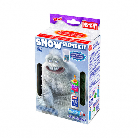 Kit pour fabriquer son SLIME SNOW - Thème YETI