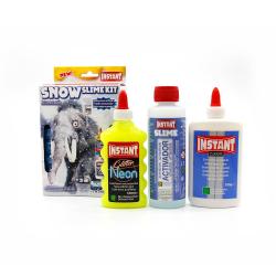 Kit pour fabriquer son SLIME SNOW - Thème MAMOUTH