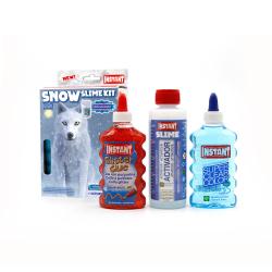 Kit pour fabriquer son SLIME SNOW - Thème LOUP