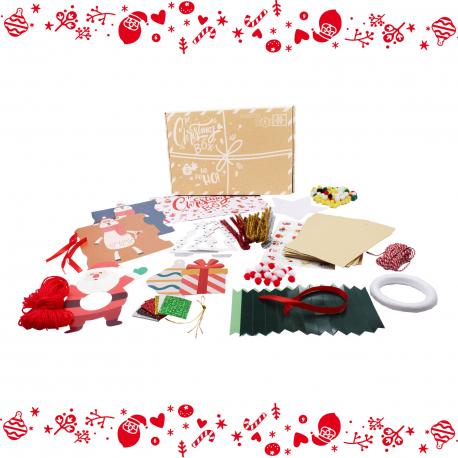Box de Noël 10 activités à réaliser soit même ou en famille - Christmas Box DIY
