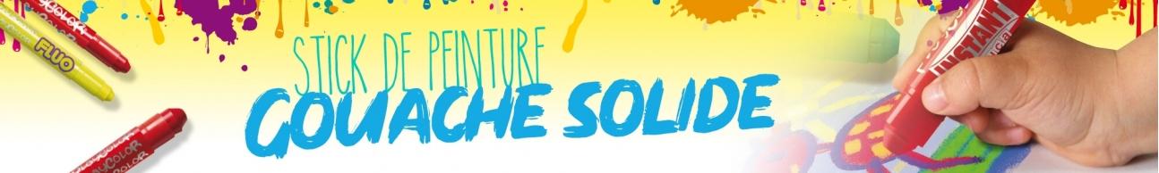 PEINTURE GOUACHE SOLIDE