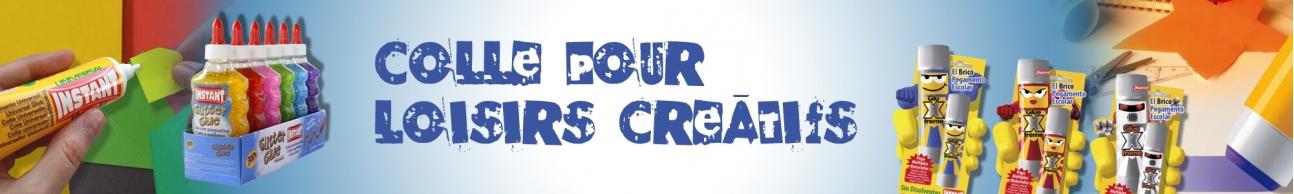 COLLE POUR LES LOISIRS CREATIFS
